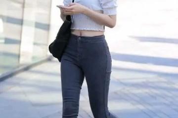 胯大肩宽的女性盛行穿牛仔裤展示了丰盈的一面
